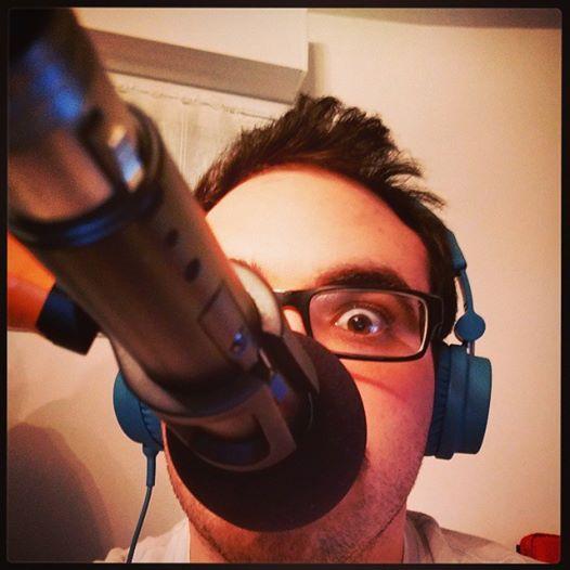 DJK au micro d'UniPod